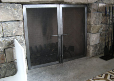 steel-fireplace